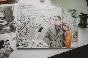 Photo Canvas Guest Book