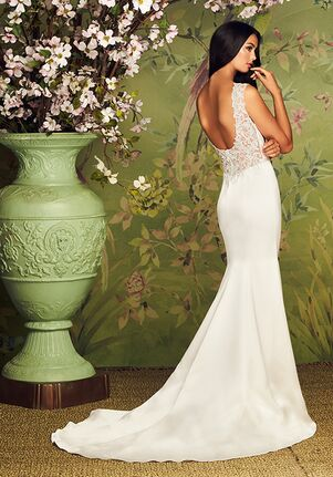 Paloma Blanca 4882 Mermaid Wedding Dress