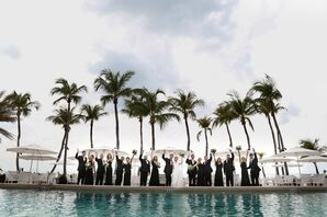 Wedding Party at Royal Poinciana Golf Club in Naples, Florida