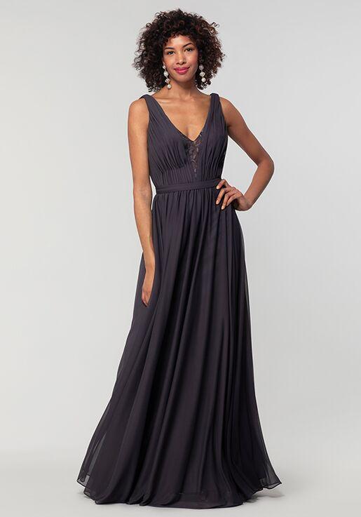 Kleinfeld Bridesmaid KL-200163 V-Neck Bridesmaid Dress
