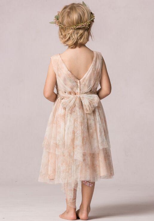 Jenny Yoo Collection (Maids) Etsy Print Flower Girl Dress