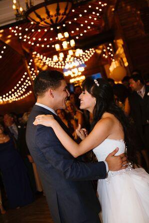 First Dance at Festive Spring Wedding
