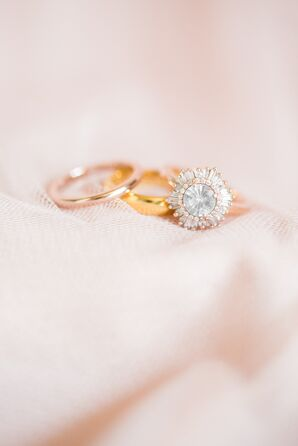 Modern, Elegant Wedding Rings