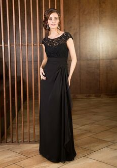 Jade Mother of the Bride by Jasmine J165066 Black Mother Of The Bride Dress