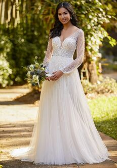 Essense of Australia D3216 Ball Gown Wedding Dress