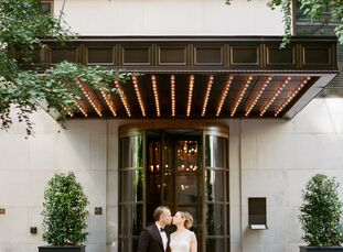 Lauren and Ari celebrated their nuptials in a rooftop ceremony at the Gramercy Park Hotel. The couple's goal was to create a chic, black-tie dinner pa