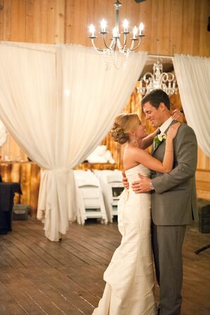 Lindsey and Jake's First Dance