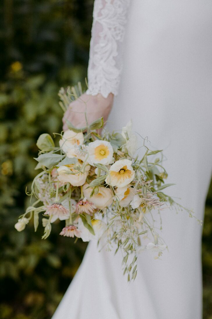 Whimsical Bouquet with Primroses and Greenery