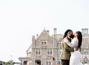 """Diahna Wood (30 and a conference coordinator) and Lovell Patton (34 and a computer specialist) each had a unique vision for their wedding day. """"I lov"""