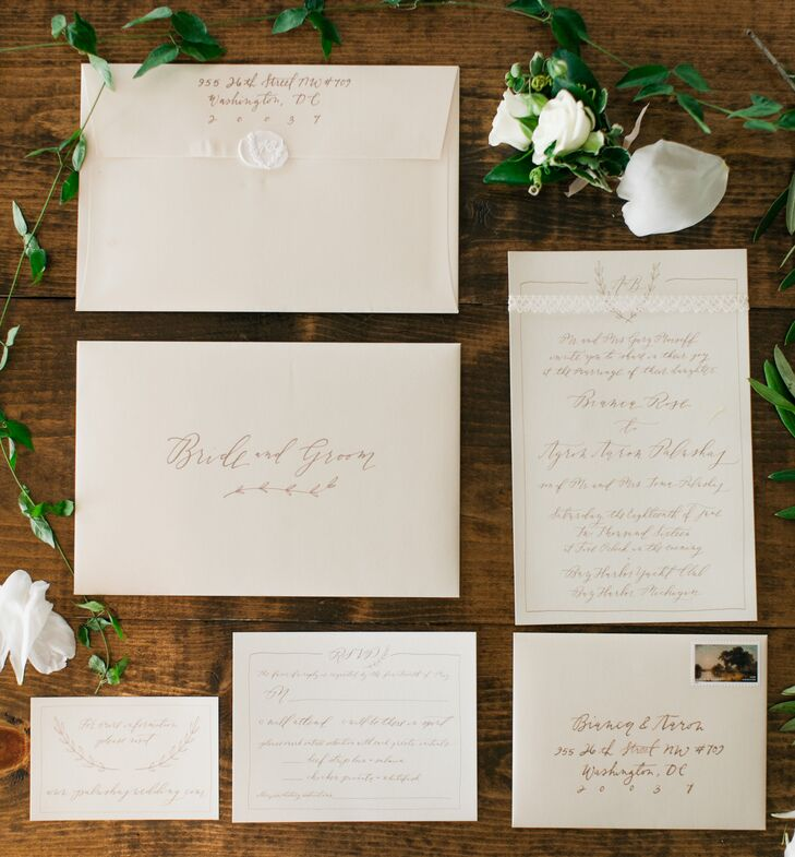 Classic Custom Invitations