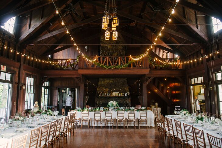 Rustic Water Witch Club Reception