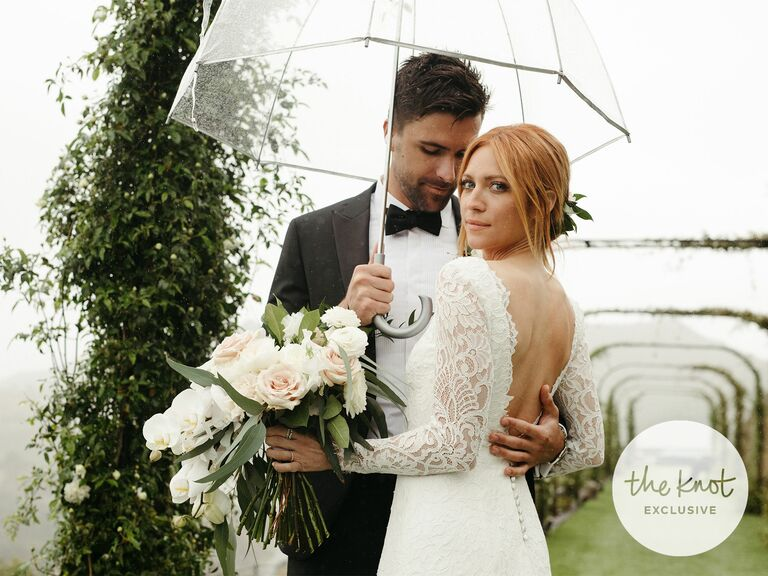 Brittany Snow and husband Tyler Stanaland wedding