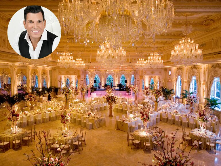 David Tutera S Tips For Personalizing Your Wedding Venue