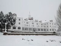 Stanley Hotel in Estes Park, Coloardo The Shining Hotel