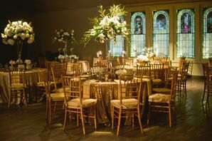 Glam Gold Reception Tables
