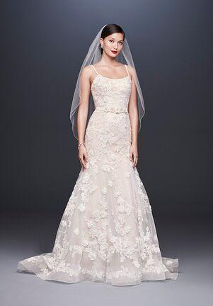Oleg Cassini at David's Bridal Oleg Cassini Style CWG814 Mermaid Wedding Dress