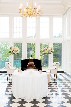 Indoor Lounge Area at Formal Reception