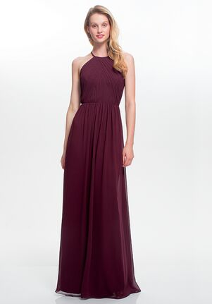 #LEVKOFF 7023 Halter Bridesmaid Dress