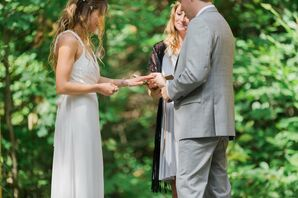 Outdoor Ceremony at Camp Birch Hill
