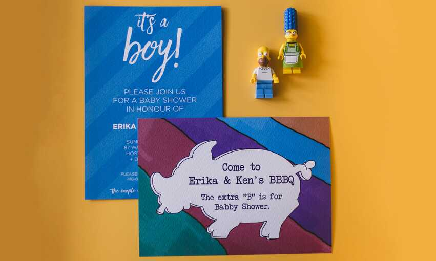 'The Simpsons' Baby Shower party themed inspiration and ideas