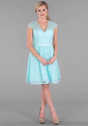 Kennedy Blue Colette V-Neck Bridesmaid Dress