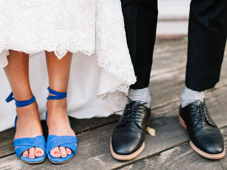 Something Blue Wedding Shoes: Best Something Blue Shoes for Brides