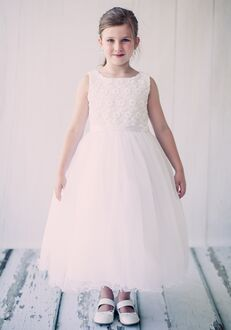 Kid's Dream 368 Ivory Flower Girl Dress