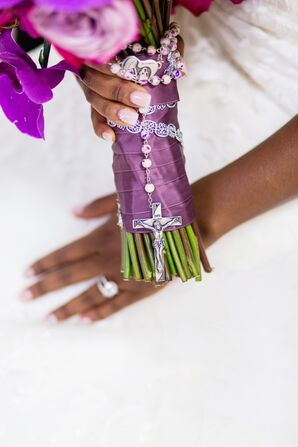 Rosary Bouquet Wrap