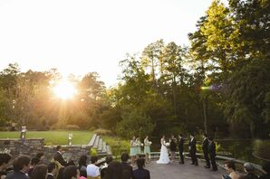 Romantic Garden Ceremony