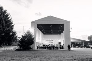 Modern Reception at Riverfront Weddings in Pittsburgh