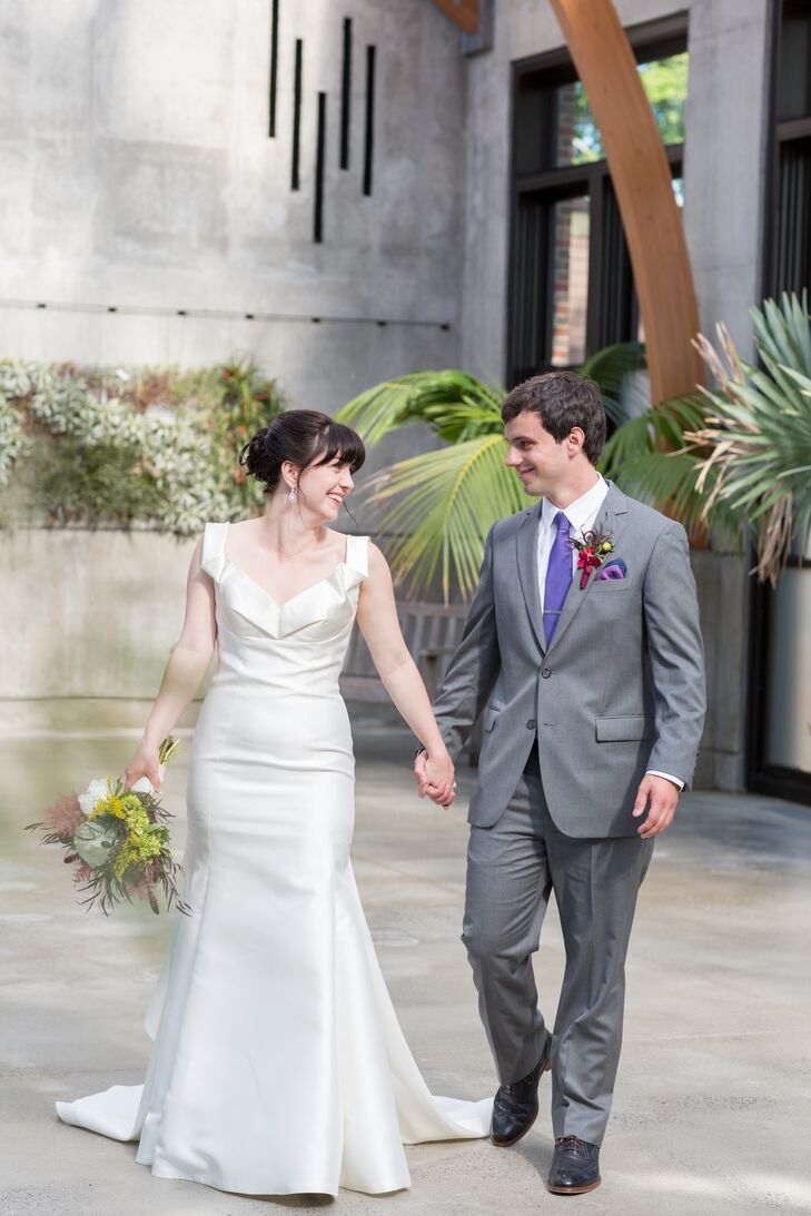 College sweethearts Jennifer Curley (27 and a science teacher) and Matthew Reedich (28 and a software engine