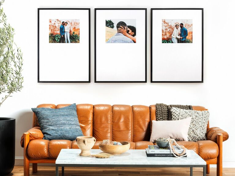 framed photo meaningful gift for husband