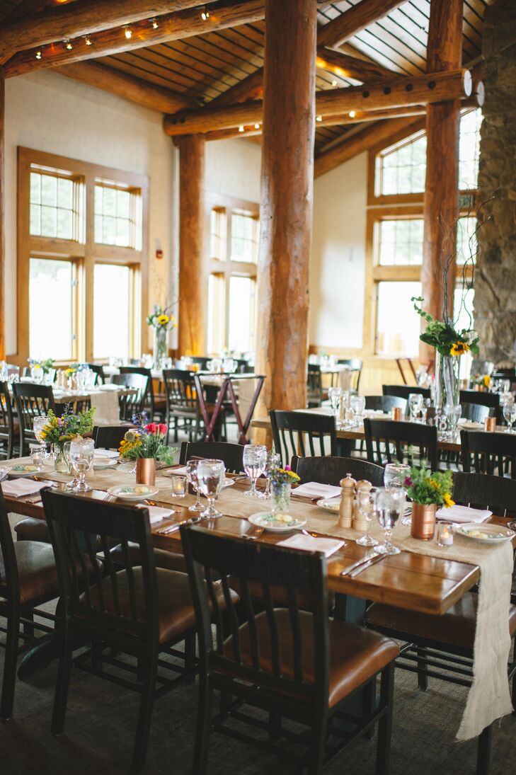 A Simple, Rustic Reception at Timber Ridge