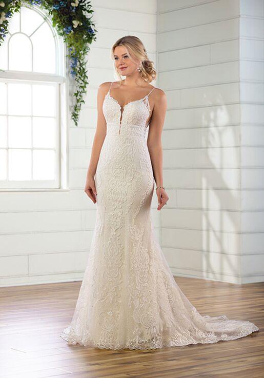 Essense of Australia D2811 Sheath Wedding Dress