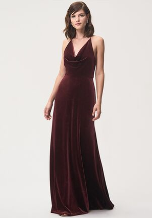 Jenny Yoo Collection (Maids) Sullivan Halter Bridesmaid Dress
