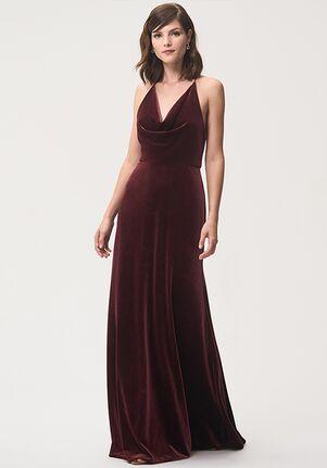 Jenny Yoo Collection (Maids) Sullivan Halter Bridesmaid Dress