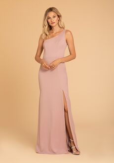 Hayley Paige Occasions 52015 One Shoulder Bridesmaid Dress
