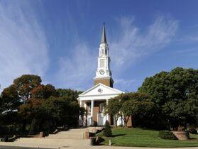 The University of Maryland Memorial Chapel