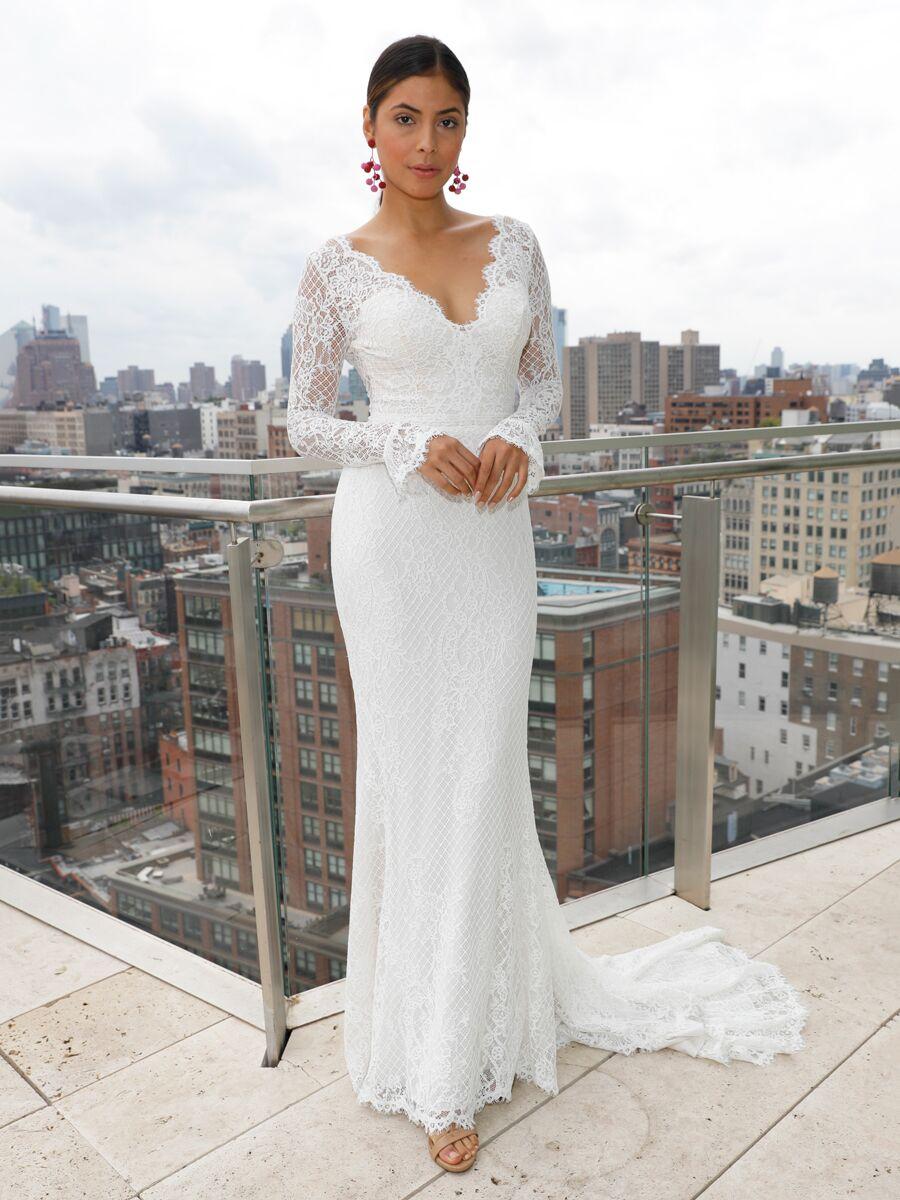 f41dd9586f Maggie Sottero Spring 2019 Collection  Bridal Fashion Week Photos