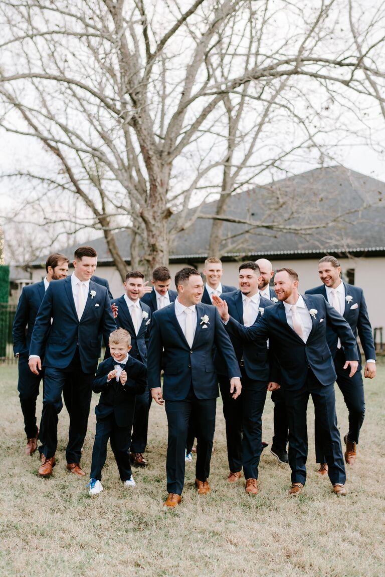 alex bregman wedding groomsmen
