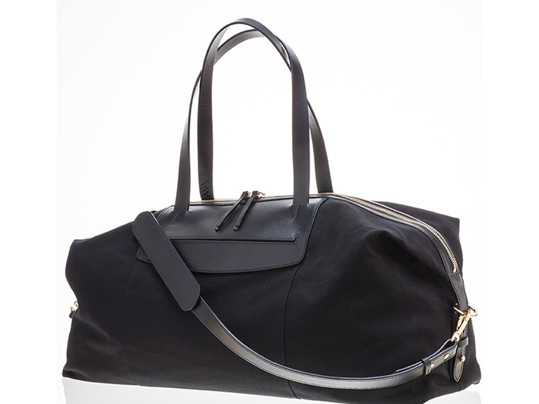 Black weekender bag  sc 1 st  The Knot & 12-Year Anniversary Gift Ideas
