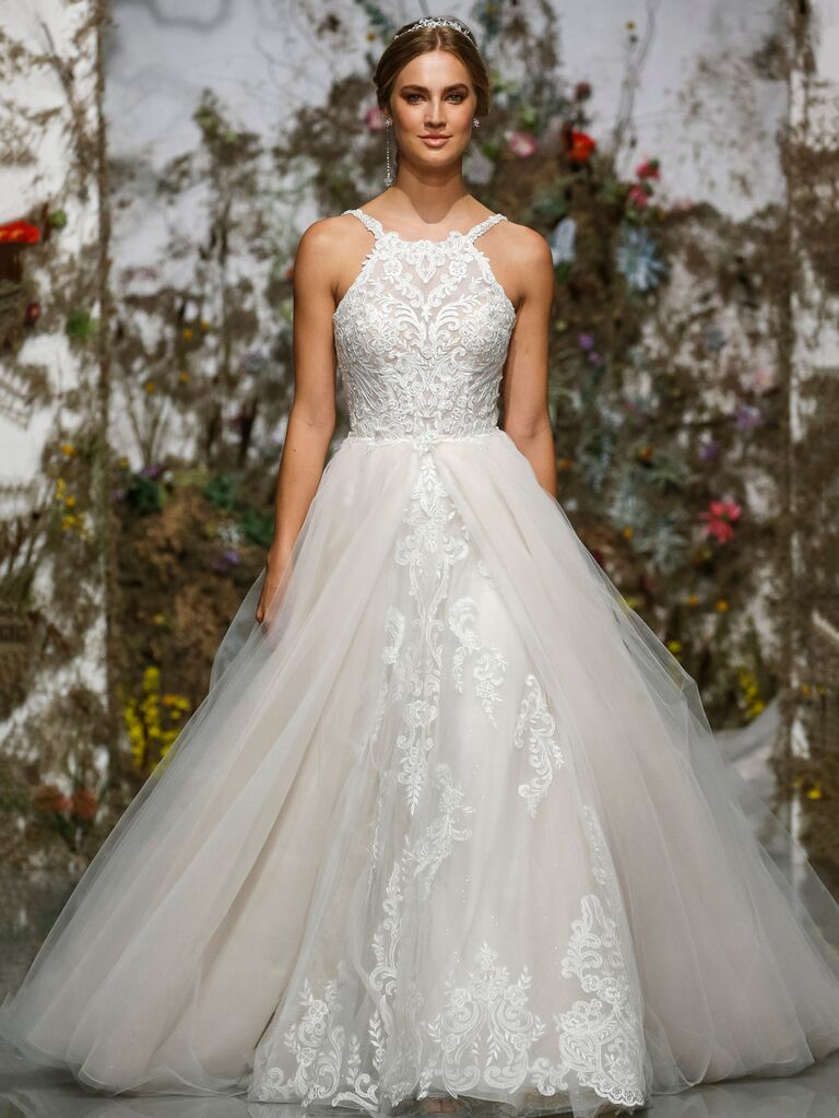 Morilee by Madeline Gardner Spring 2020 embroidered lace wedding gown
