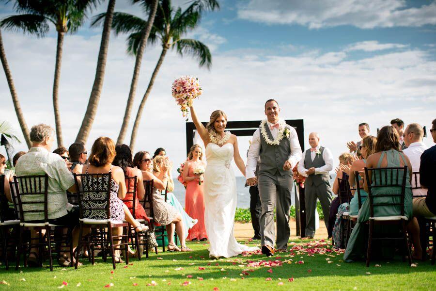 Wedding reception venues in maui hi the knot sugar beach events hawaii junglespirit Images