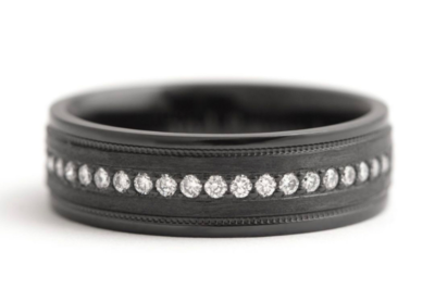 Unique Titanium Wedding Rings