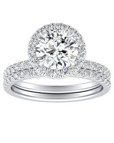 DiamondWish.com Classic Princess, Asscher, Cushion, Radiant, Round, Oval Cut Engagement Ring