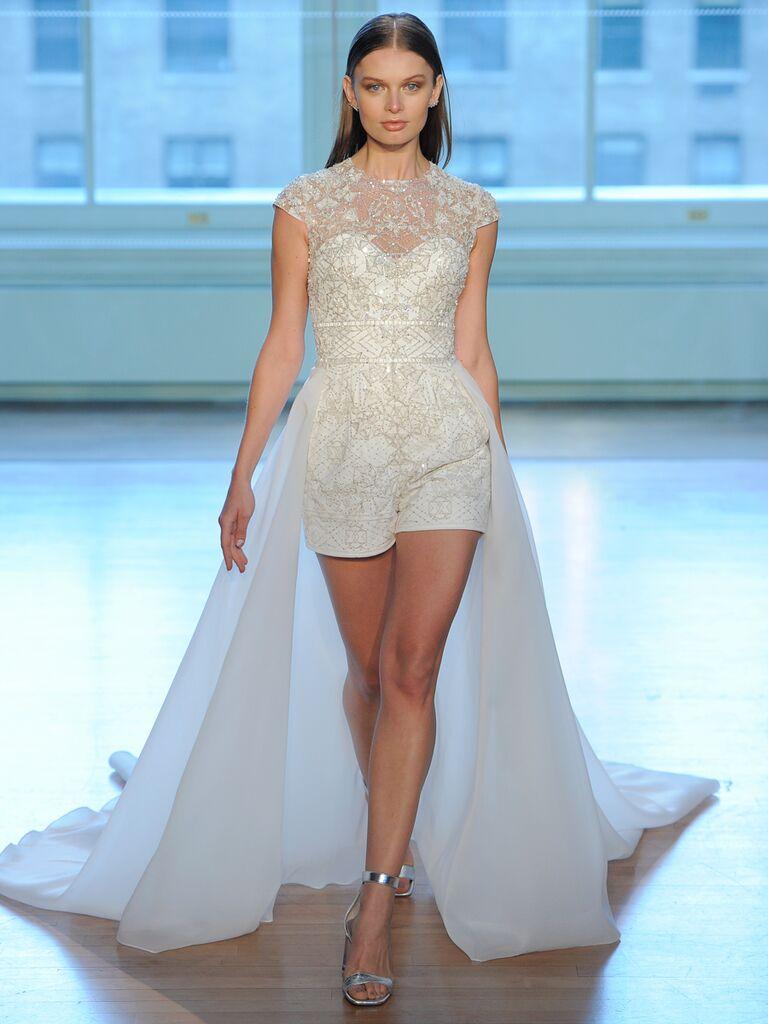 Daring Wedding Dresses From Bridal Fashion Week (Watch!)