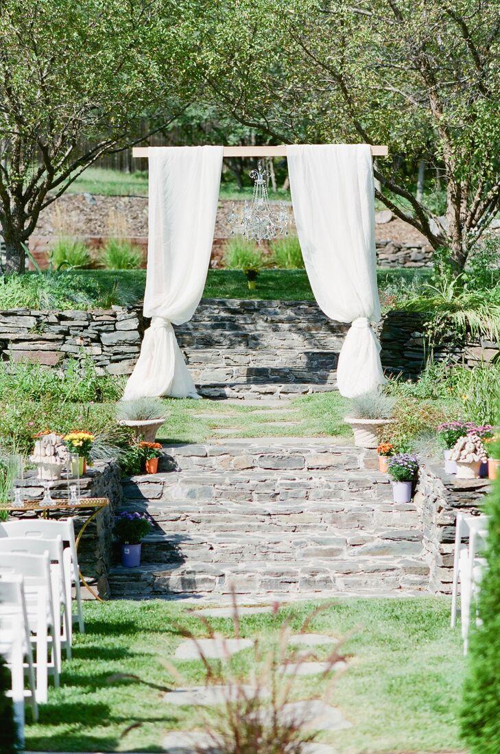 Romantic Ceremony at a Private Estate in Sedalia, Colorado