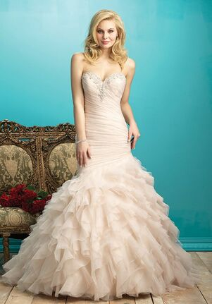 Allure Bridals 9267 Sheath Wedding Dress