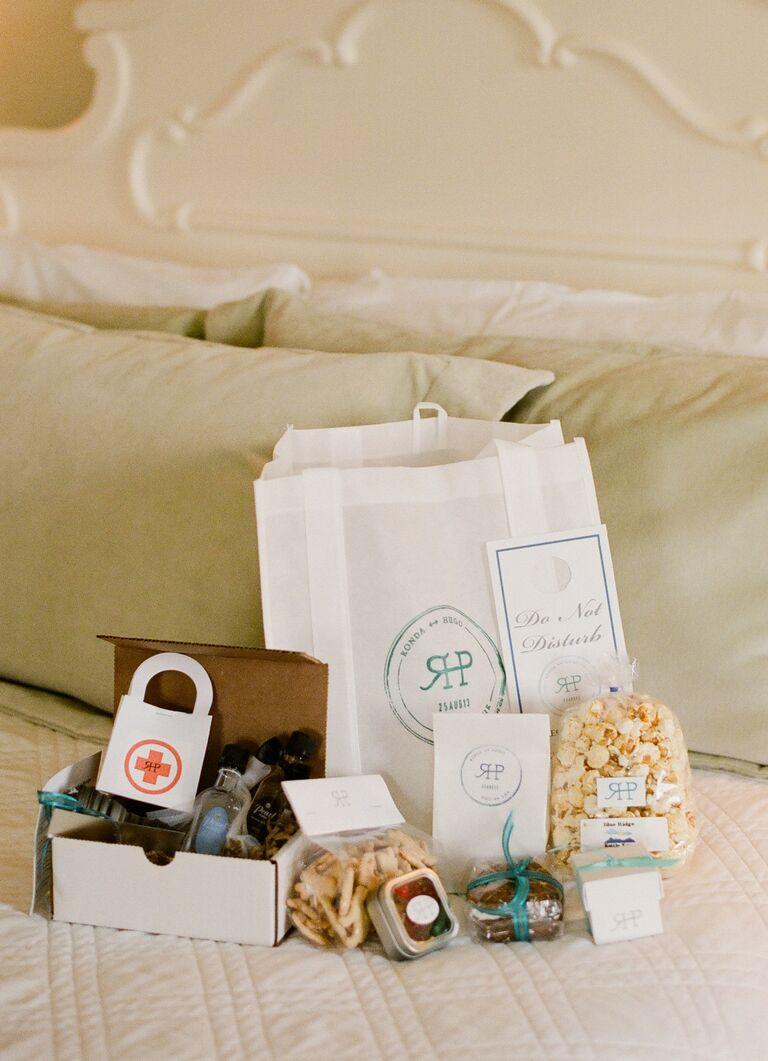 Welcome Bag With Hangover Kit