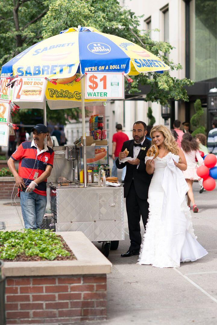 New York City Bride and Groom Photo Idea